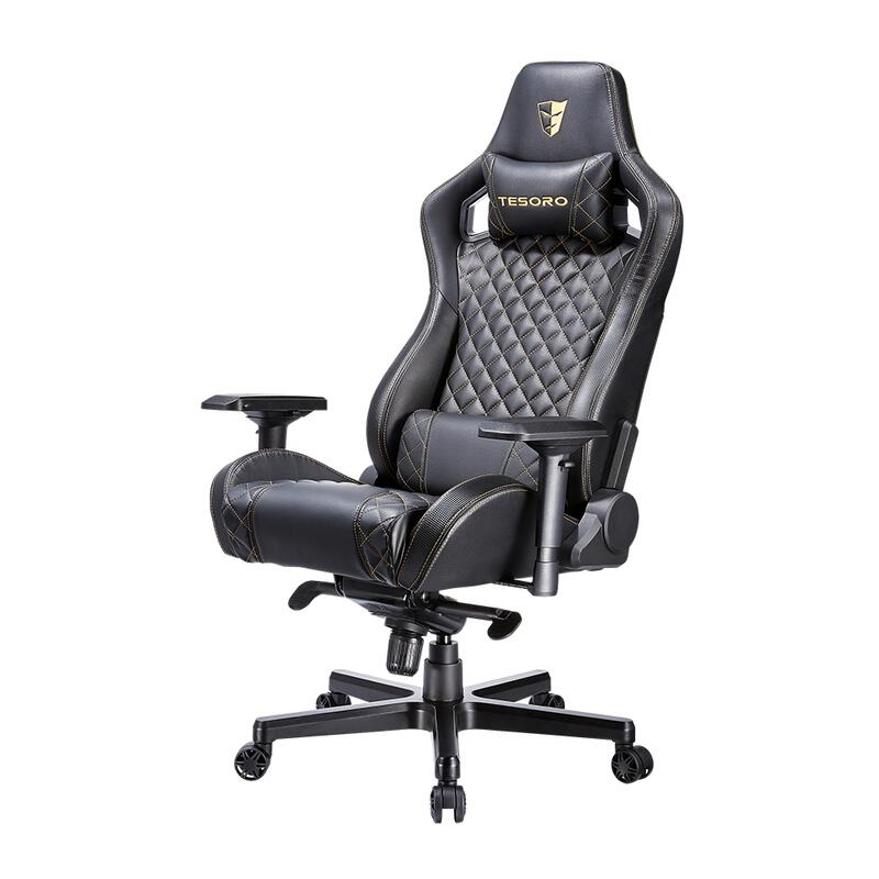 TS-F750 Zone X Gaming Chair Black-Gold