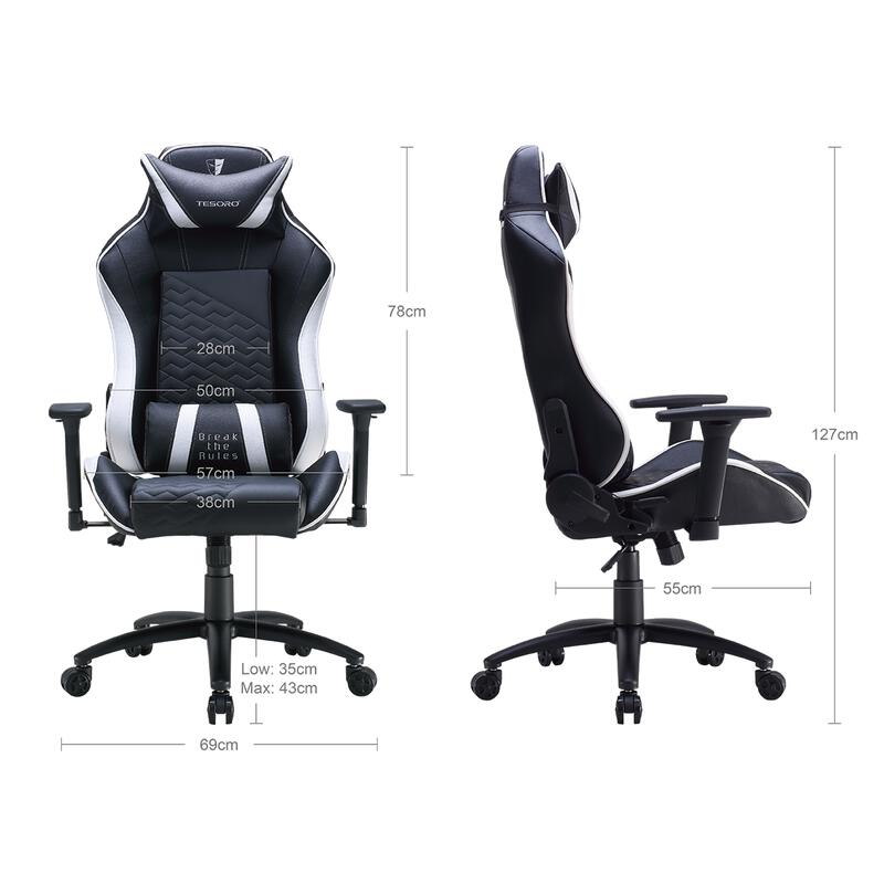 Zone Balance Gaming Chair Black