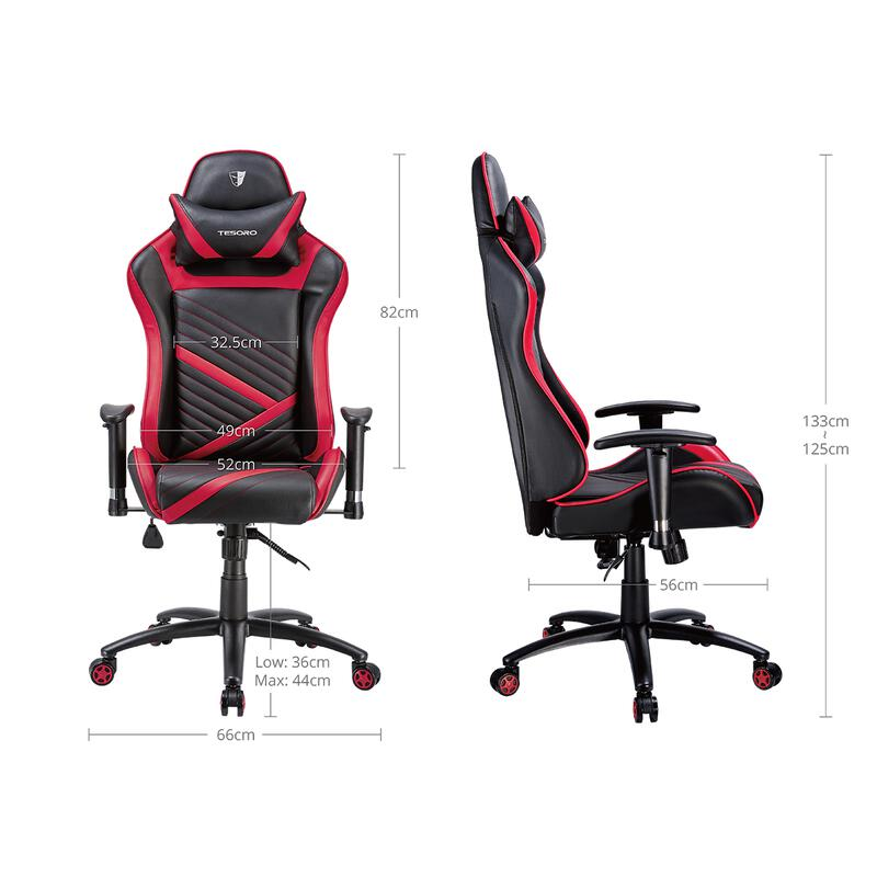 Zone Speed Gaming Chair Black
